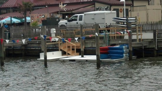 Shore Pedal and Paddle: Marina Launch Area