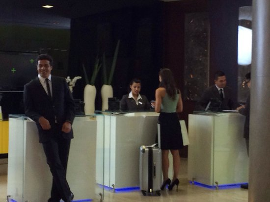 Pullman Sao Paulo Ibirapuera: Commercial making at Pullman Hotel with Brazilian Soccer player Rai