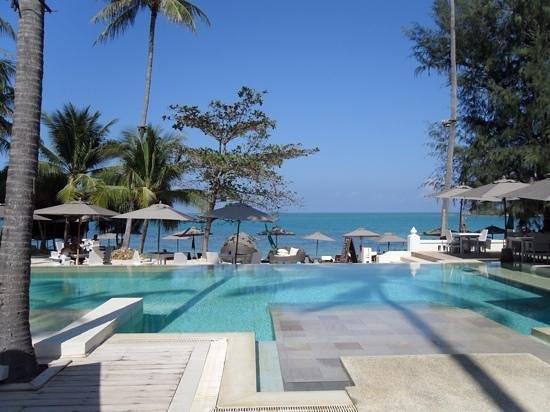 SALA Samui Choengmon Beach Resort : View of the Pool