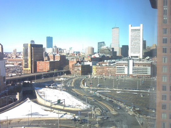 Seaport Boston Hotel : view looking south and east for 16th floor
