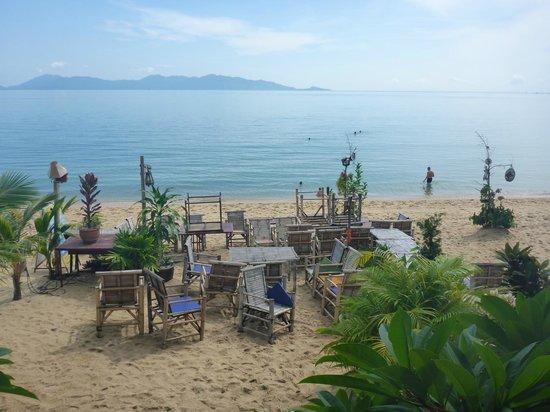 Florist Resort: Beachside dining