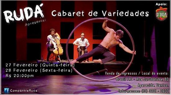 Companhia Rudá apresenta :Cabaret de Variades