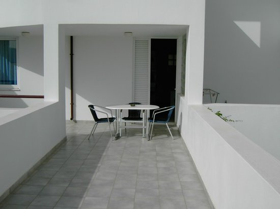 Markakis Apartments: Terrasse de l'appartement