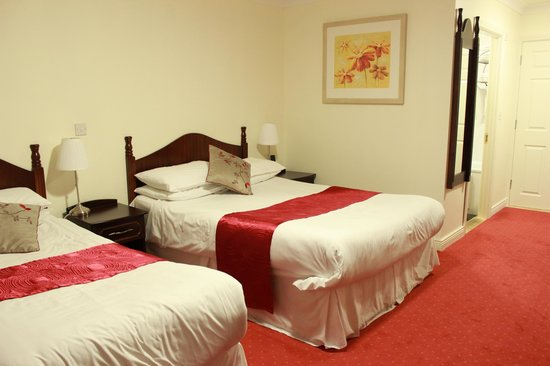 The Charles Stewart Dublin: Double bed in triple room