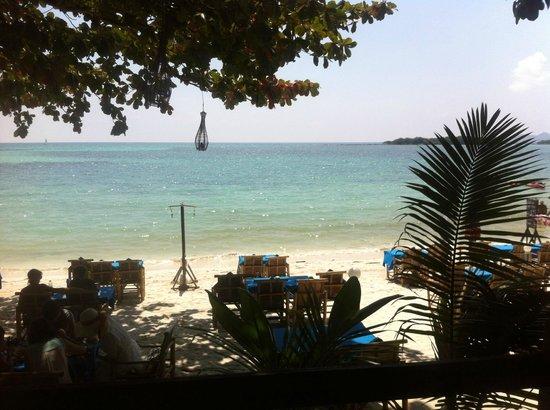 Chalala Samui Resort: Aussicht aus dem Restaurant