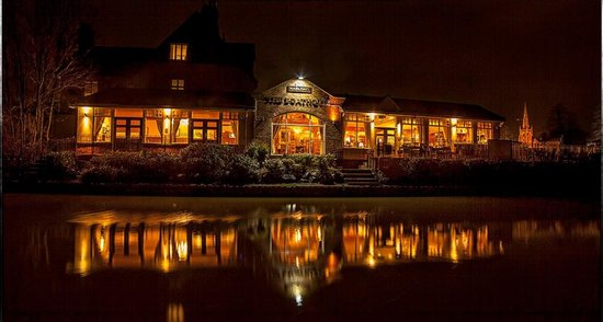 Boat House: The Boathouse in the evening !!