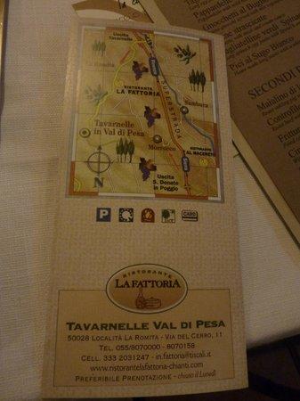 Ristorante La Fattoria: map