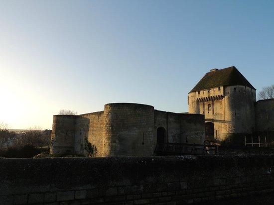 Best Western Plus Hotel Moderne : Château de Caen à proximité de l'hôtel