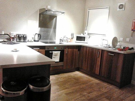 Bluestone National Park Resort Fantastic Kitchen With Double Fridge And Dishwasher