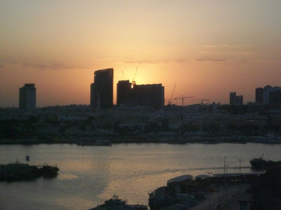 Hilton Dubai Creek: view from room