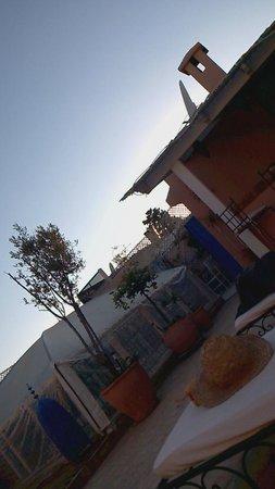 Riad Abaca Badra: Terraza