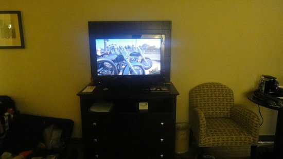 Holiday Inn Express Los Angeles-LAX Airport: TV quarto