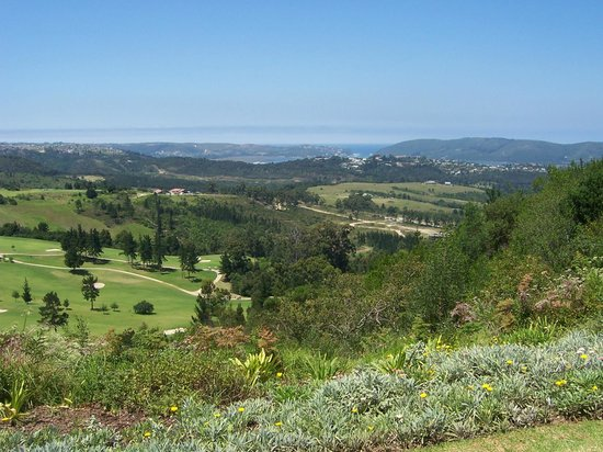 Knysna, South Africa: View from 2nd Tee