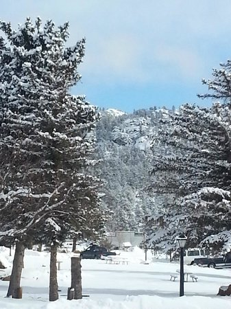 Murphy's Resort at Estes Park: Showy day in Estes