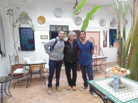 RIAD ABACA BADRA : Con Gilles - Un genio