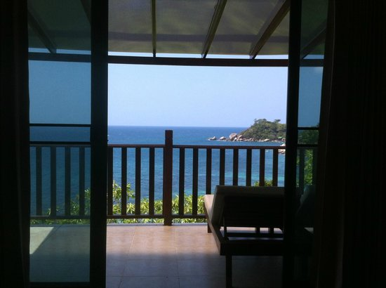 Pinnacle Koh Tao Resort : Aussicht Zimmer
