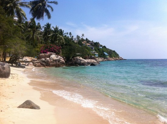 Pinnacle Koh Tao Resort: Strand