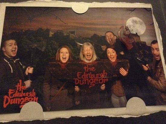 The Edinburgh Dungeon : arrrgh!