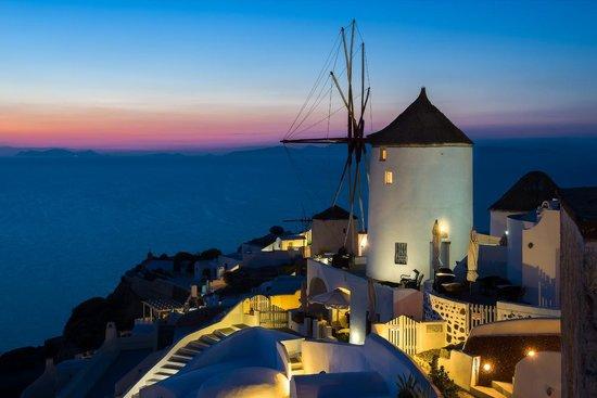 Fanari Villas: Снято с крыши нашего отеля