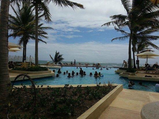 Magdalena Grand Beach & Golf Resort: Main Pool Area
