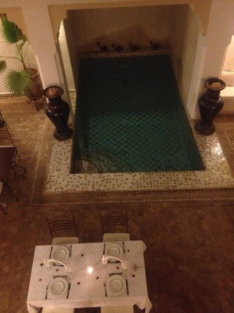 Riad RK: Premier dîner au Riad