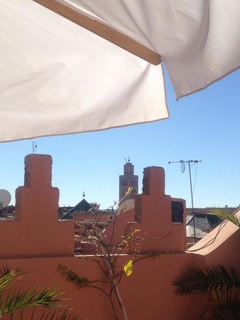 Riad RK : Vue de la terrasse