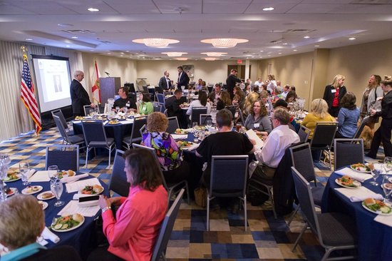 Four Points by Sheraton Tallahassee Downtown: TSAE Member Lunch Crowd