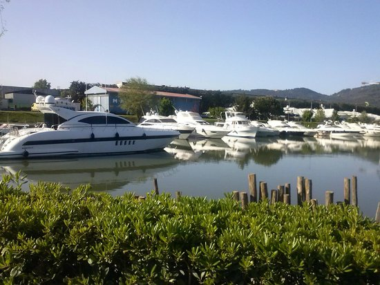 Iron Gate Camping Marina : vue du bungalow