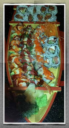 IRB SushI: Specialty Rolls on a boat!