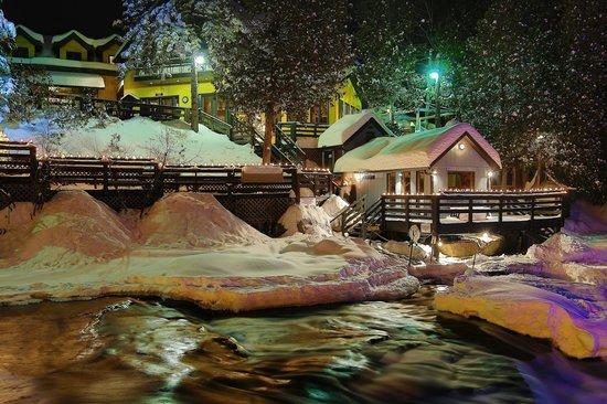 Bagni Spa: La détente en soirée...