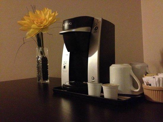 Le Portage Motel : Coffee machine