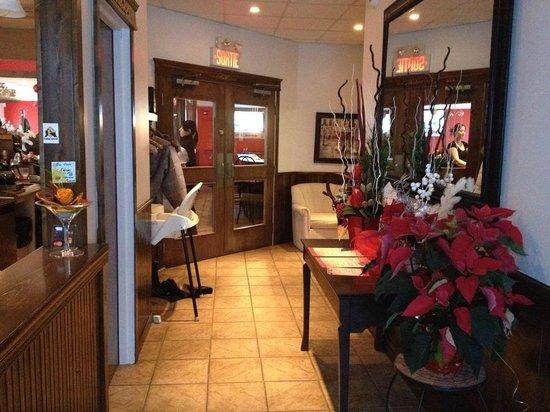 Le Portage Motel : Reception area
