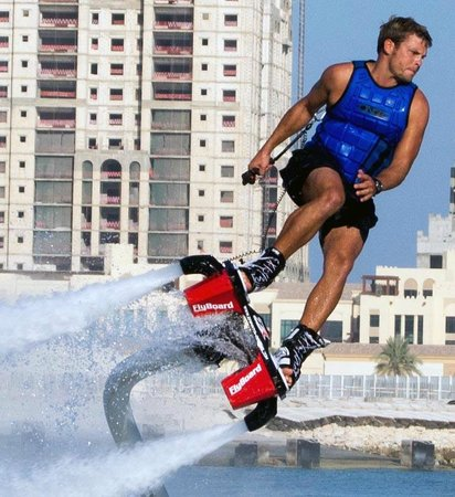 Power Up Watersports: 3rd place World Flyboard Champion and Power Up Owner, Ben Merrell