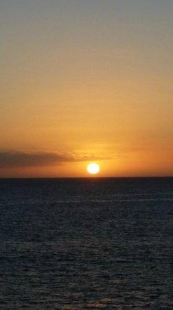 Lopesan Villa del Conde Resort & Corallium Thalasso: Puesta de sol