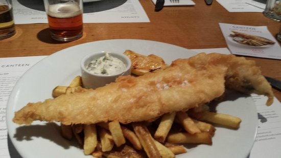 Canteen - Baker Street : le fish and ship