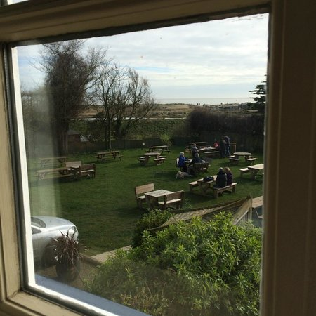 The Bell Inn: View from bedroom