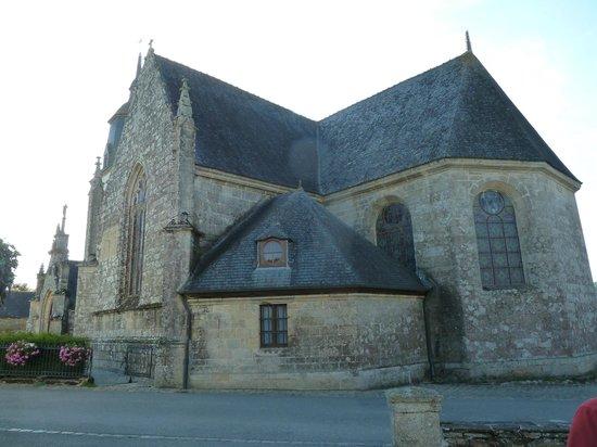 Chambres d'Hotes le Pottier : Eglise du Quillio