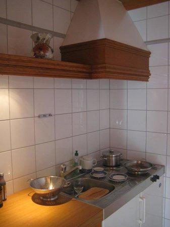 Hotel Laerchenhof Natur : kitchen