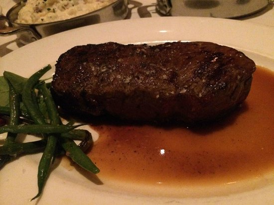 Capital Grille: Sirloin in Au Jus