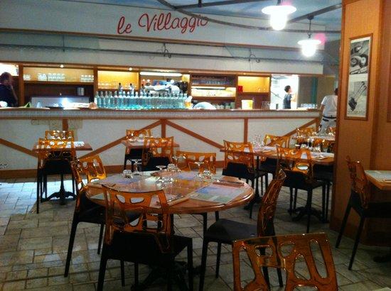 Restaurant Pizzeria Le Villaggio : cote bar