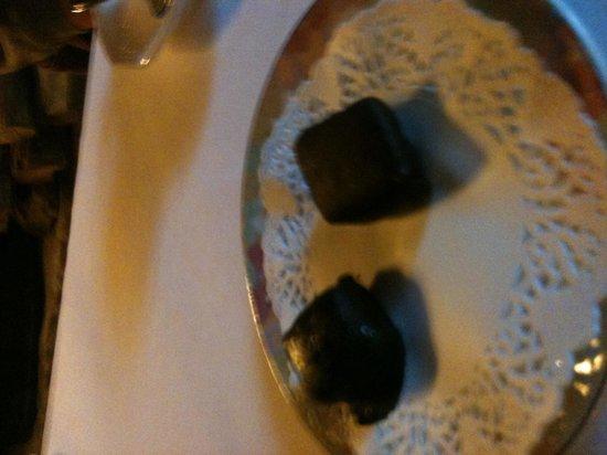 La Tour Bajole: Chocolats maison