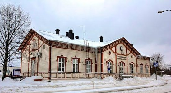 Vanhakaupungin Restaurant & Guesthouse: Estación tren Kokkola