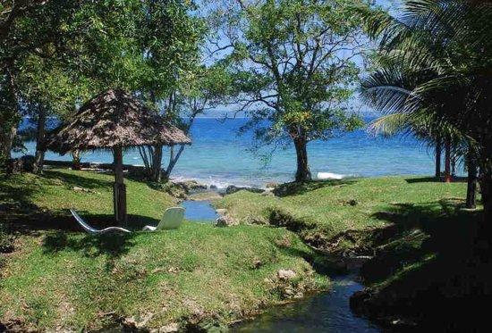 Benjor Beach Club: Playground along a freshwater stream