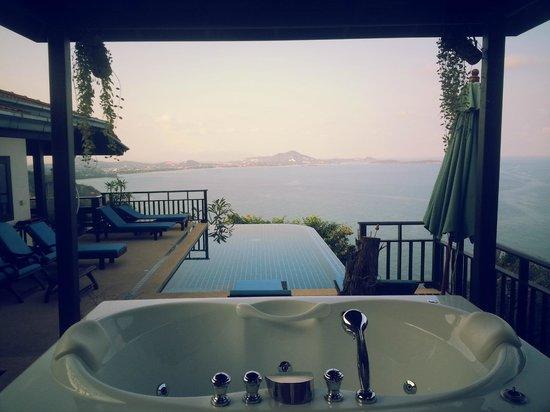 Sandalwood Luxury Villas : View from our Villa (Leelawadee)