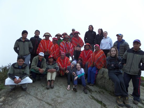 Camino Inca: Our whole crew!