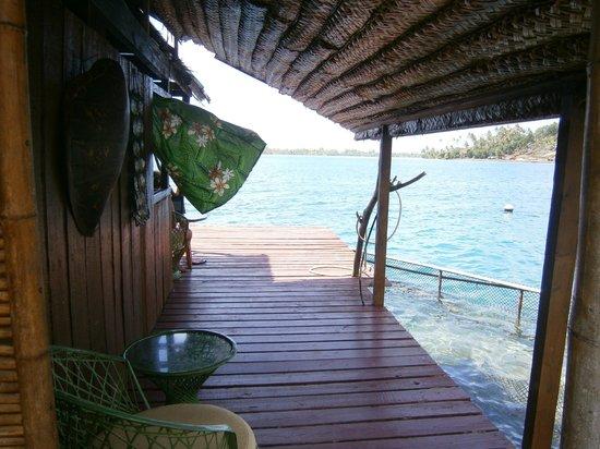 Pension Nahe Toe Toe: the bungalow on the sea
