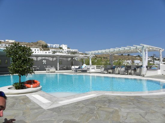 Argo Hotel Mykonos: Pool at Argo