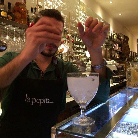La Pepita: Working the gin and tonic