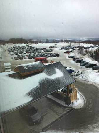 Jay Peak Resort: View from Odd Numbered Rooms in Stateside Hotel