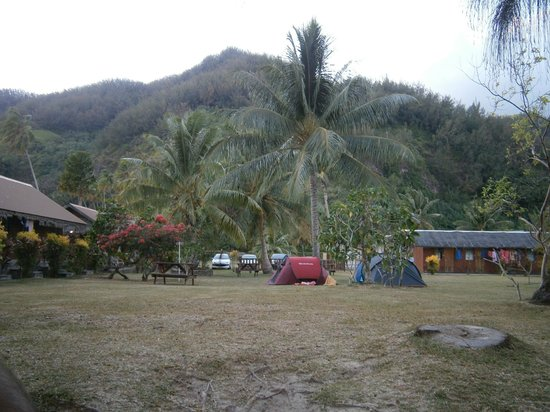 Camping Nelson : camping area & rooms